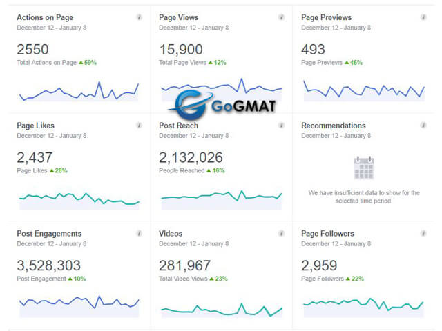 Facebook Marketing For GoGmat